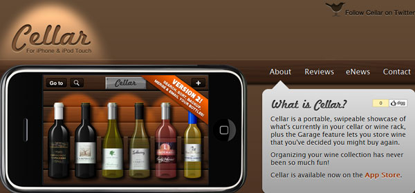 cellar 80 Best iPhone Application Websites