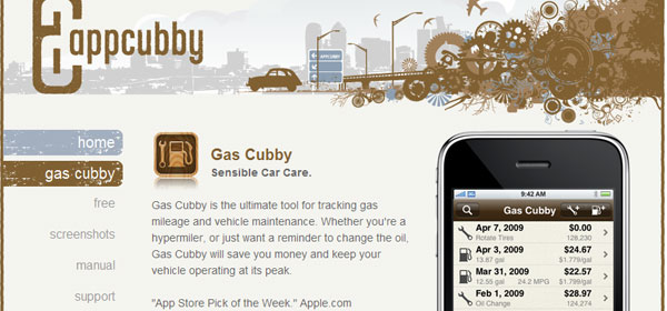 gas 80 Best iPhone Application Websites