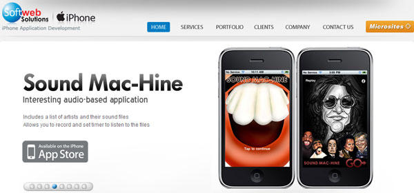 iphonemobileapplication 80 Best iPhone Application Websites