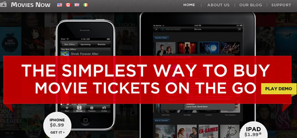 moviesnowapp 80 Best iPhone Application Websites