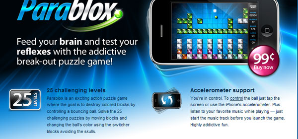 parablox 80 Best iPhone Application Websites