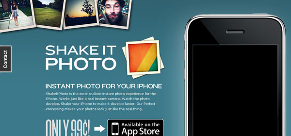 shakeitphoto 80 Best iPhone Application Websites