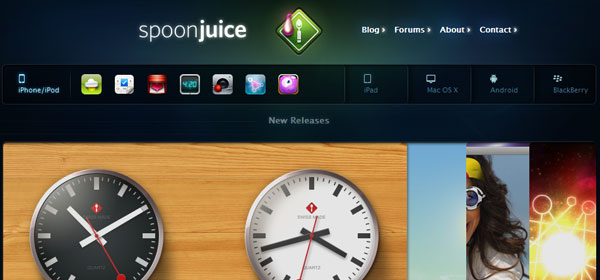 spoonjuice 80 Best iPhone Application Websites