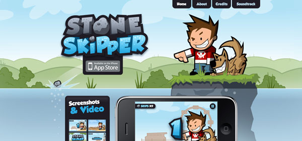 stoneskipper 80 Best iPhone Application Websites