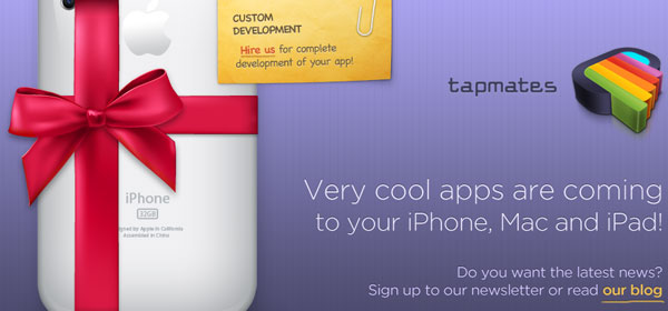 tapmates 80 Best iPhone Application Websites