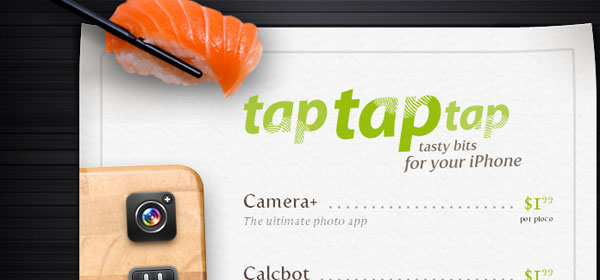 taptaptap 80 Best iPhone Application Websites