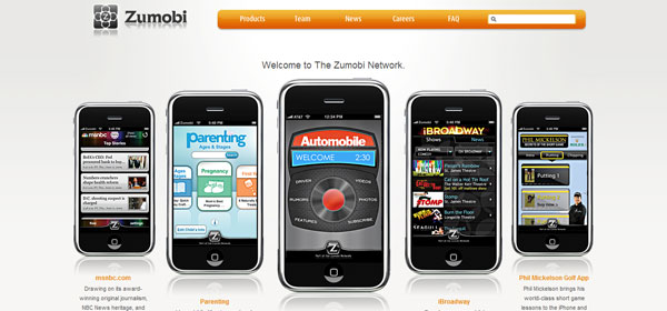 zumobi 80 Best iPhone Application Websites