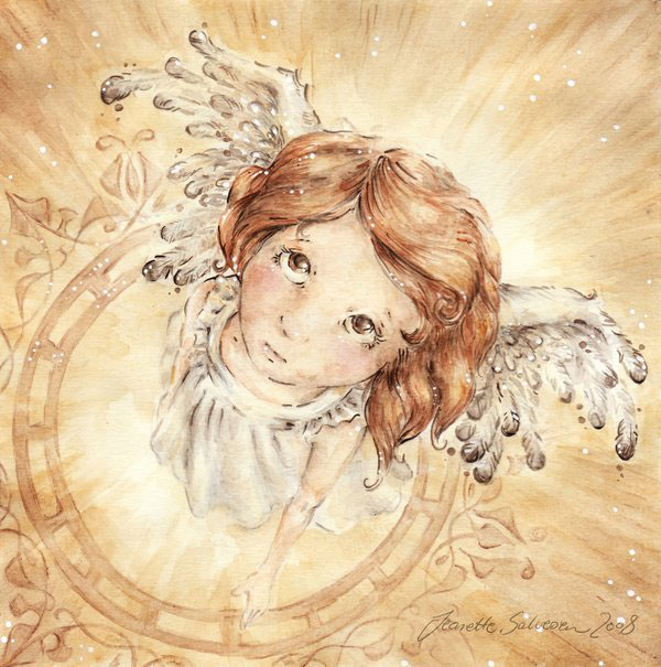Wings by DreamsOfALostSpirit Adorable Work of Illustrator Jeanette Salvesen   I.D. 58