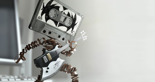 tape music 35 Spectacular Music Wallpapers