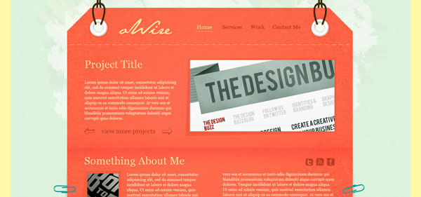Home 30 Free PSD Website Templates from 2010