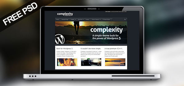 complexity 30 Free PSD Website Templates from 2010