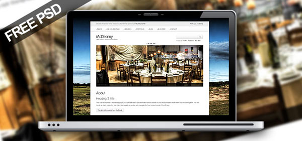 mccleannypromo 30 Free PSD Website Templates from 2010