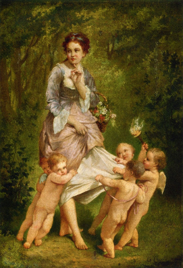 Classical Paintings by Charles Joshua Chaplin 15