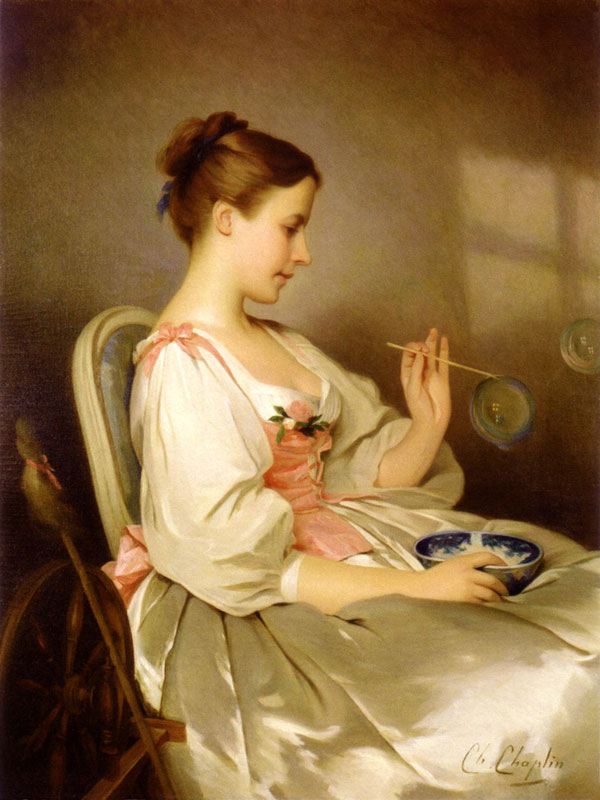 Classical Paintings by Charles Joshua Chaplin 14