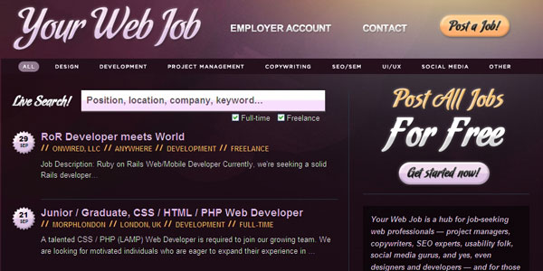 Your Web Job