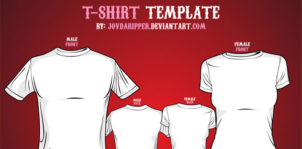 blank t shirt design template. T-Shirt Templates Link