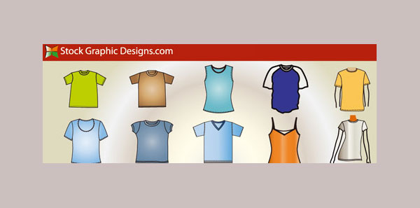 Vector Valley T-Shirt Template Pack