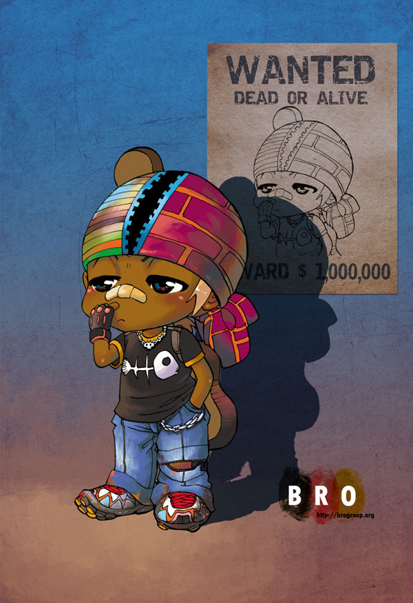 Bad boy chibi style by alex tuan Great Artworks by Alex Tuan   I.D. 81