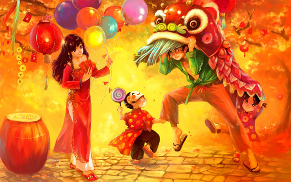 Happy newyear by alex tuan Great Artworks by Alex Tuan   I.D. 81