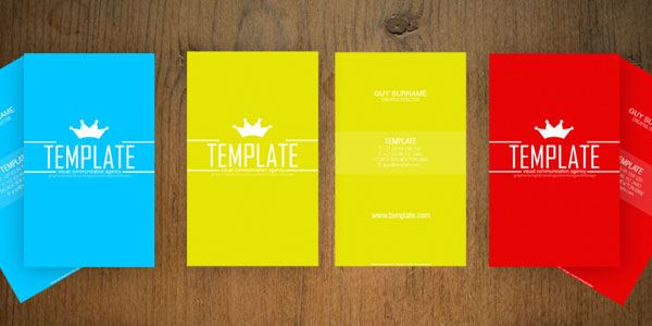 Colorful Business Card Templates