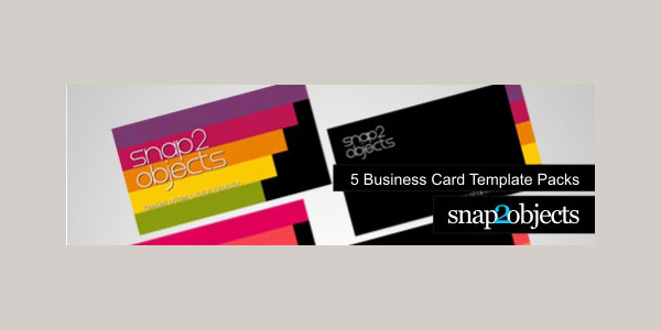 5 Business Card Templates Pack
