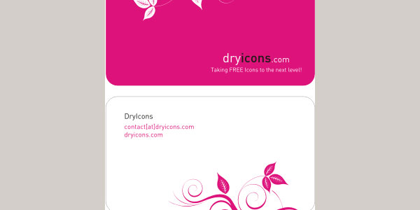 DryIcons Template