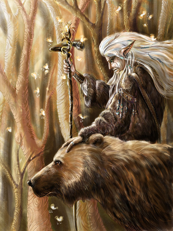 Druid by Grey Seagull Gratifying Art by Grey Seagull   I.D. 88