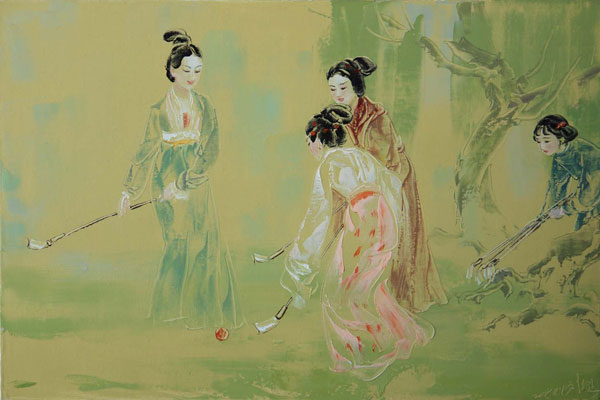 2010020214163232 Chinese Paintings of Liu Wenjin   I.D. 85