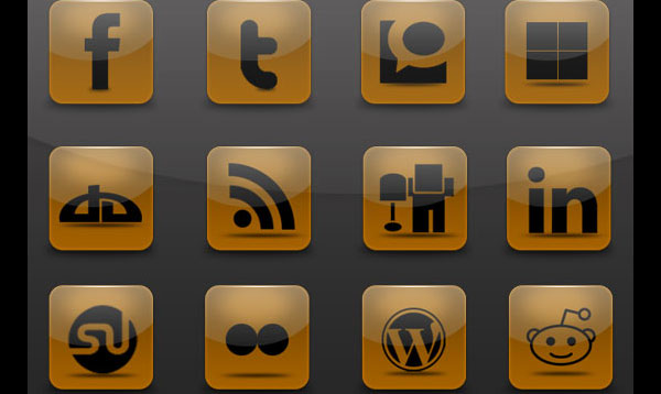 02 02 brown social icon pack preview 84 Massive Social Media Icon Collection