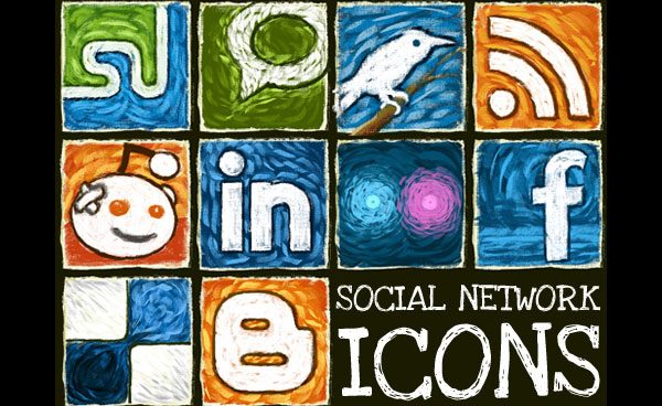 display 84 Massive Social Media Icon Collection
