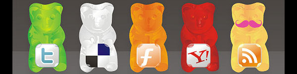 gummy 84 Massive Social Media Icon Collection