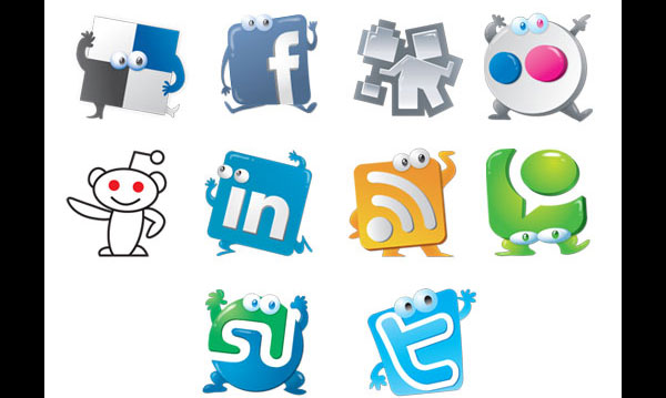 jive preview1 84 Massive Social Media Icon Collection