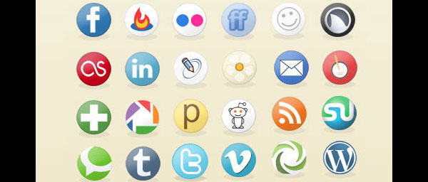 preview17 84 Massive Social Media Icon Collection