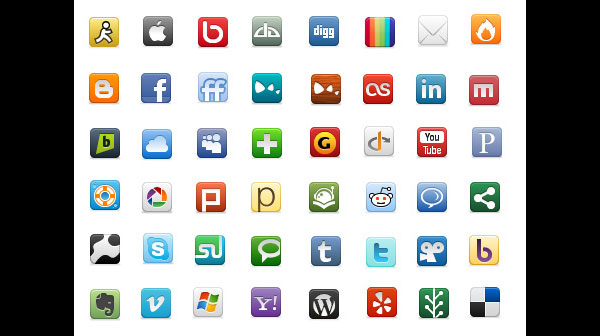 social networking iconpack 452 84 Massive Social Media Icon Collection