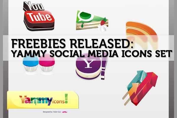 yammyfreebie 84 Massive Social Media Icon Collection