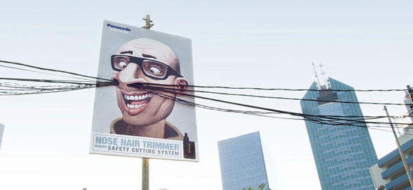 Panasonic nose trimmer: Baldy