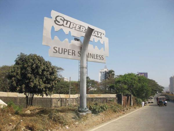 Super-Max blades: Cut Through Billboard