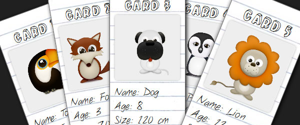 Use CSS3 to Create a Dynamic Stack of Index Cards