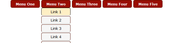 Create Simple Dropdown Menu Using jQuery