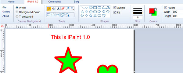 ipaint HTML5 Canvas Demos and Applications To Make You Say WOW