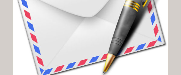 Draw Golden Pen and Envelope Icon in Photoshop