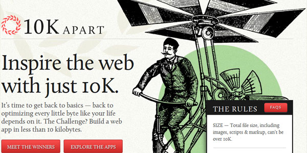 10k 22 Amazing Illustrated Web Designs