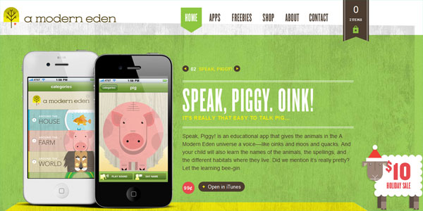 amoderneden 22 Amazing Illustrated Web Designs