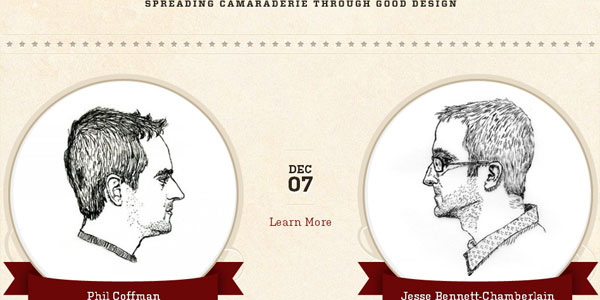 design 22 Amazing Illustrated Web Designs