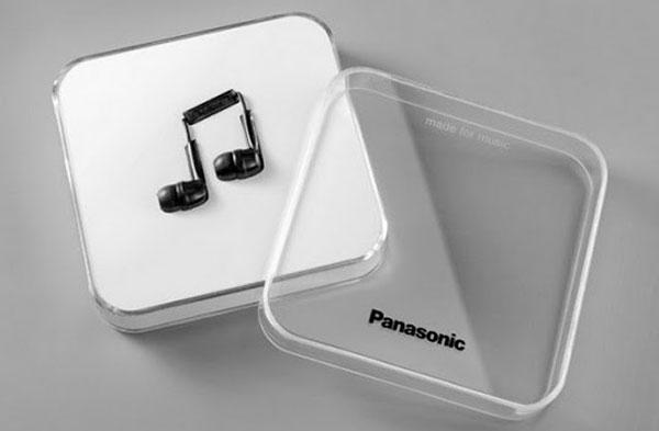 Panasonic Note – Stereo Earphones Headphones