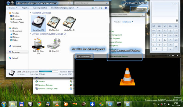 Increibles Temas para Windows 7