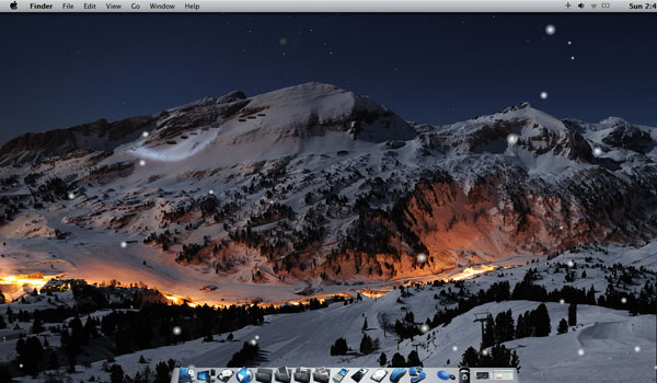 winter mac theme on w7 by maxxdout d34pn1k 22 Awesome Windows 7 Themes