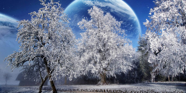 Winter Wallpaper Moon