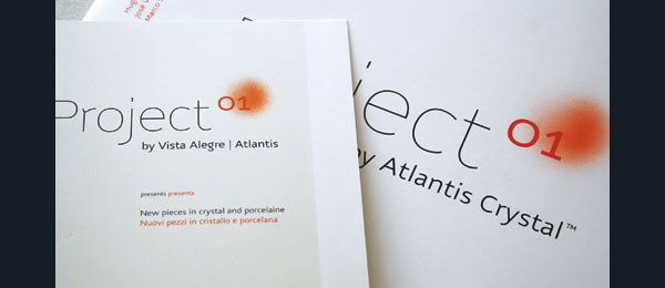 Project 01 Catalog for Atlantis Crystal