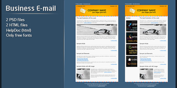 136 best email templates business e mail template accmission Gallery